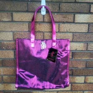 NWT Juicy Couture Tote Bag Pink Purple 13X4X14